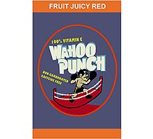 Wahoo Punch Photographic Print