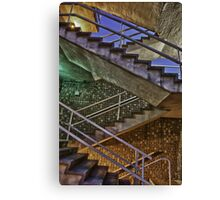 Staircase Spectrum Canvas Print