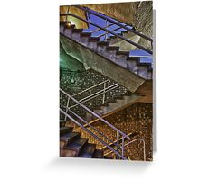 Staircase Spectrum Greeting Card