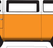 Tin Top Early Bay standard orange and white Sticker