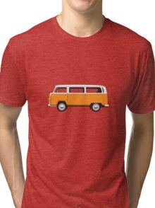 Ton Top Early Bay standard orange and white Tri-blend T-Shirt