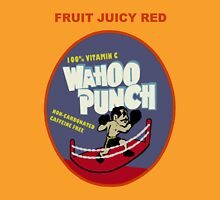 Wahoo Punch 2 Womens Fitted T-Shirt