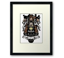 Original Badass: Fully Loaded Framed Print