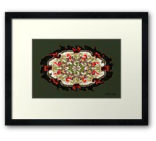 Gather the Grapes~ Make the Wine Framed Print