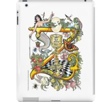 "The Illustrated Alphabet Capital   Z   ""Getting personal"" iPad Case/Skin"