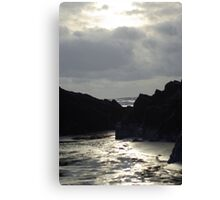 Black Rock Sands  Canvas Print