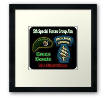 5th Special Forces Group (Abn) Framed Print