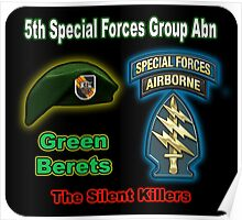 5th Special Forces Group (Abn) Poster