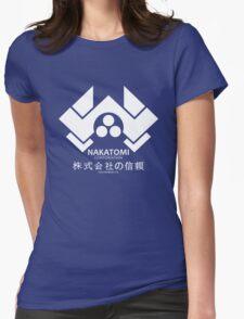 NAKATOMI PLAZA - DIE HARD BRUCE WILLIS (WHITE) Womens Fitted T-Shirt