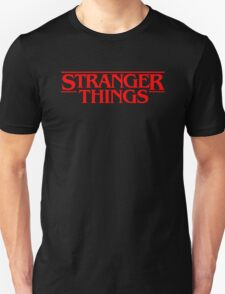 Stranger Things (Series TV) Unisex T-Shirt