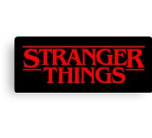 Stranger Things (Series TV) Canvas Print