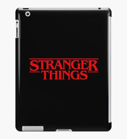 Stranger Things (Series TV) iPad Case/Skin