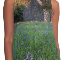 In a Country Churchyard Contrast Tank