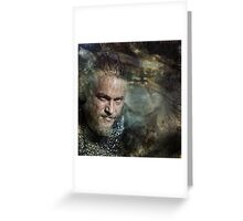 The King Greeting Card