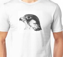 Fantasy Falcon - Bic Biro Pen Ink Drawing Unisex T-Shirt