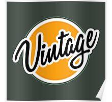 Vintage Badge Poster