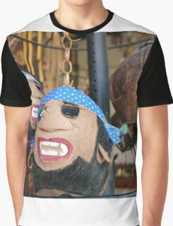 Coconut pirate heads Graphic T-Shirt