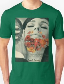 The Lady With the Beard of Flowers Unisex T-Shirt