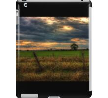Countryside at dusk iPad Case/Skin