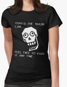 Papyrus - Undertale Quotes Womens Fitted T-Shirt