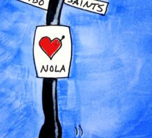 I Heart Nola Sticker