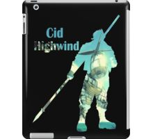 Cid Highwind iPad Case/Skin