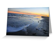 Beach Bum Bliss Greeting Card