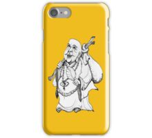 Happy Wandering Buddha  iPhone Case/Skin