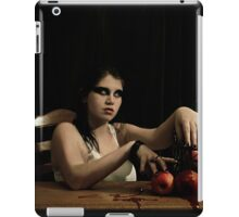 The apples are poisoned iPad Case/Skin