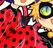 Miraculous Ladybug & Chat Noir Sticker