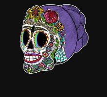 Catrina Sugar Skull Womens Fitted T-Shirt