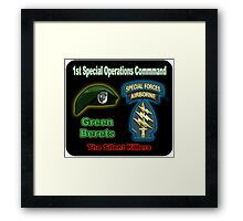 1st Special Operations Command Framed Print