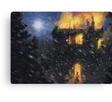 Always into the East! (Only 50!) Canvas Print