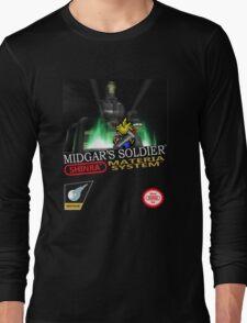 Final Fantasy VII Nintendo Style Long Sleeve T-Shirt