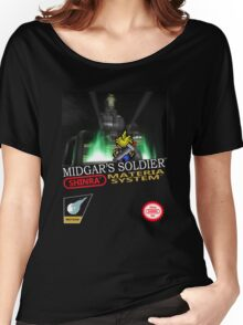 Final Fantasy VII Nintendo Style Women's Relaxed Fit T-Shirt