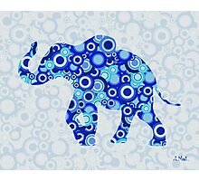 Elephant - Animal Art Photographic Print
