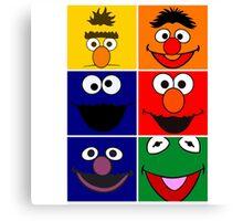 Sesame Street 2 Canvas Print