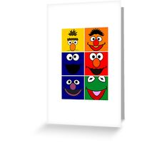 Sesame Street 2 Greeting Card