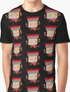 Posicube Positive Magnetic Robot Graphic T-Shirt