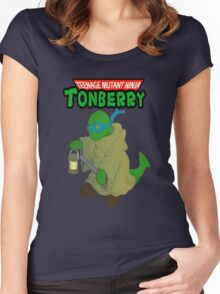 Teenage Mutant Ninja Tonberry Women's Fitted Scoop T-Shirt