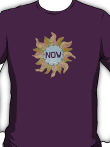 a NOW clock T-Shirt