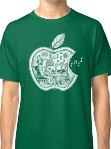 The Apple Core (white) Classic T-Shirt