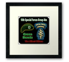 10th Special Forces Group (Abn) Framed Print