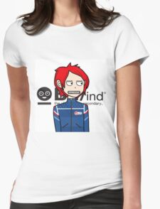 Gerard Way: BL/ind Womens Fitted T-Shirt