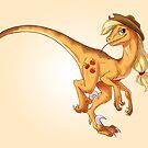 Raptor Applejack by CherryGarcia