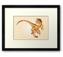 Raptor Applejack Framed Print