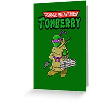 Teenage Muntant Ninja Tonberry Part 2 Greeting Card