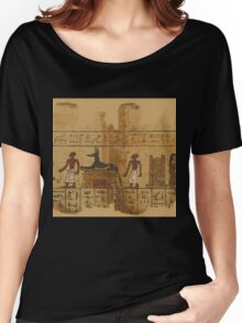 A Page from the Egyptian Book of the Dead Women's Relaxed Fit T-Shirt