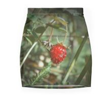 Wild Strawberry Mini Skirt