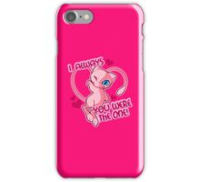 mew valentine iPhone Case/Skin